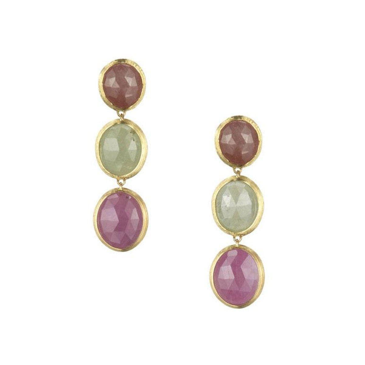 18k Siviglia Sapphire Earrings - OB105 MXZ Y-Marco Bicego-Renee Taylor Gallery