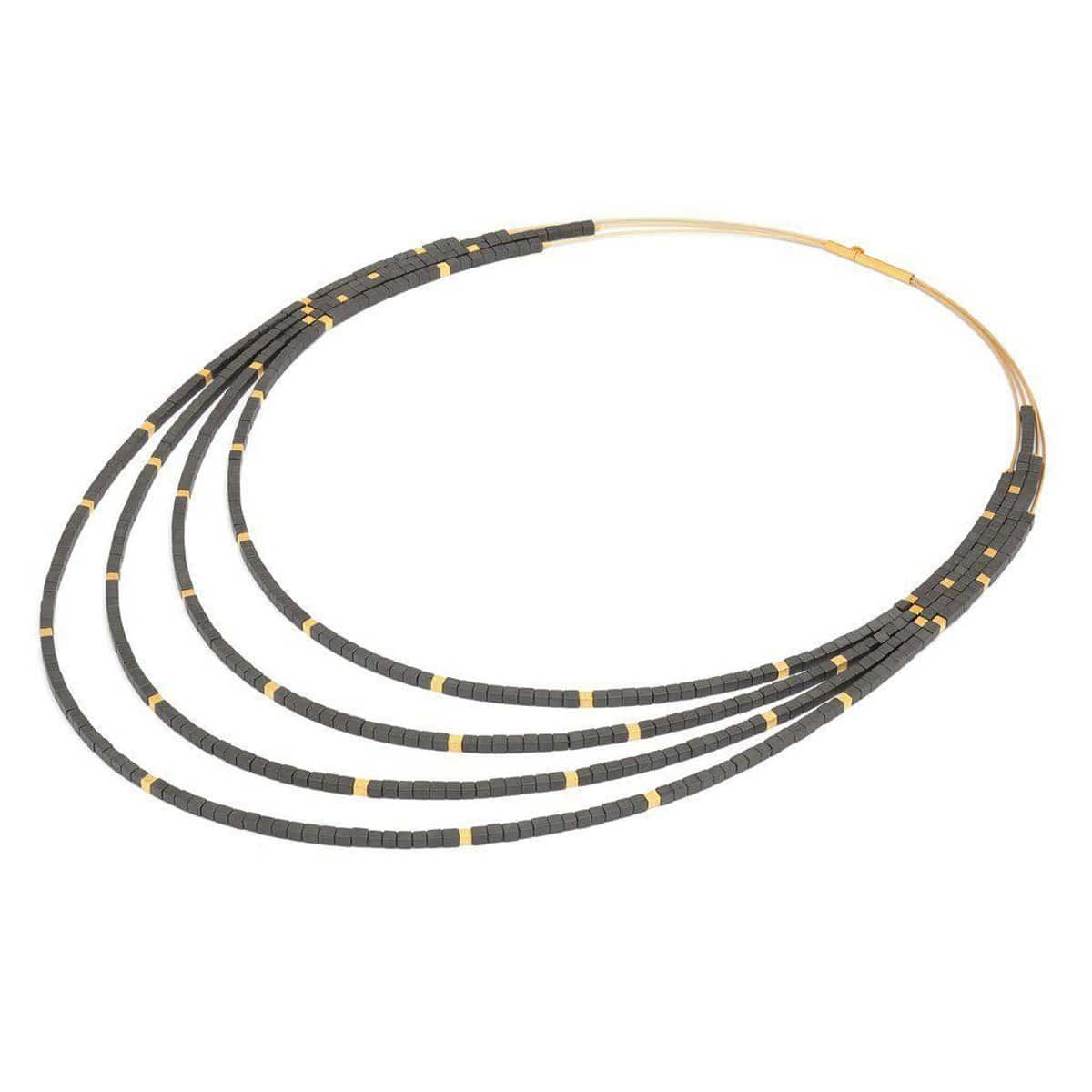 Cubalena Hematite Necklace - 83201276
