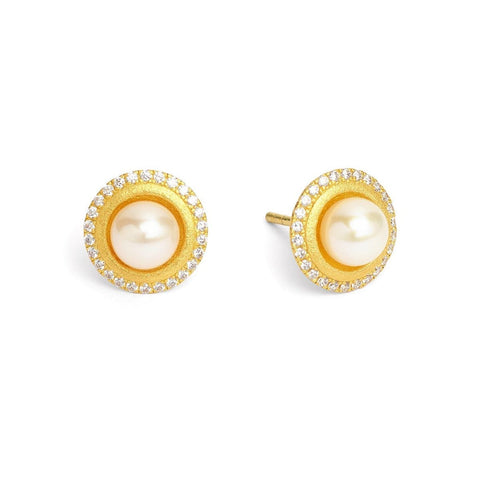 Disana Freshwater Pearl Earrings - 19254656 - Bernd Wolf