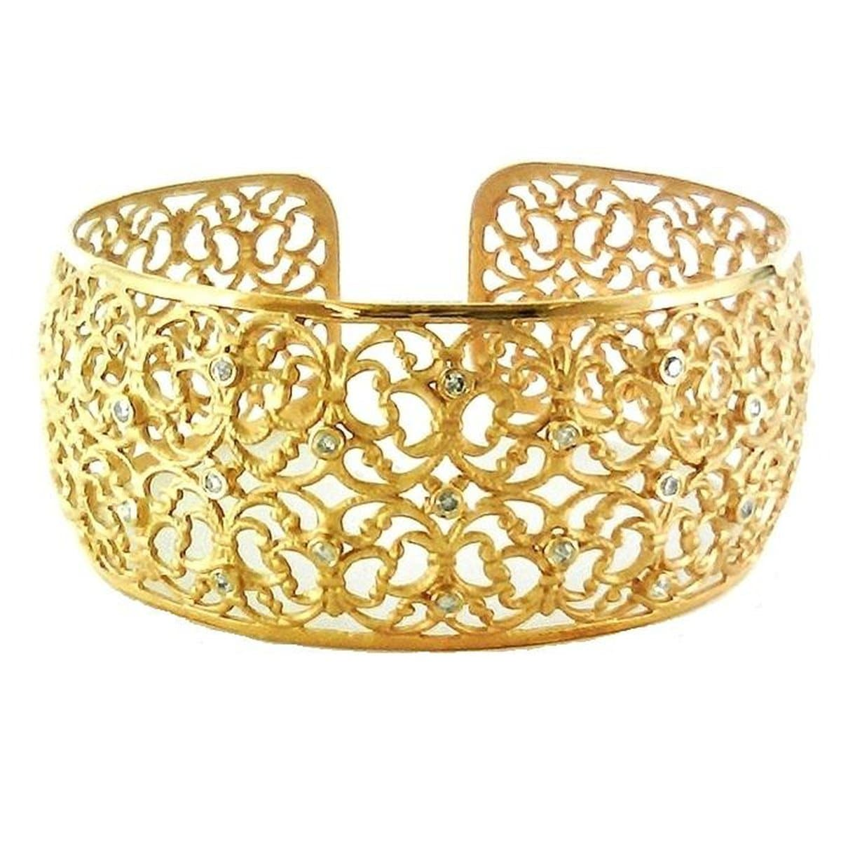 Marika Diamond & 14k Gold Cuff - M2512