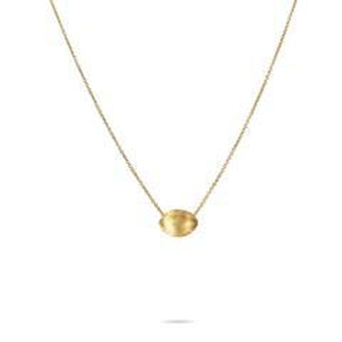 18K Delicati Necklace - CB1793 Y 16.5""