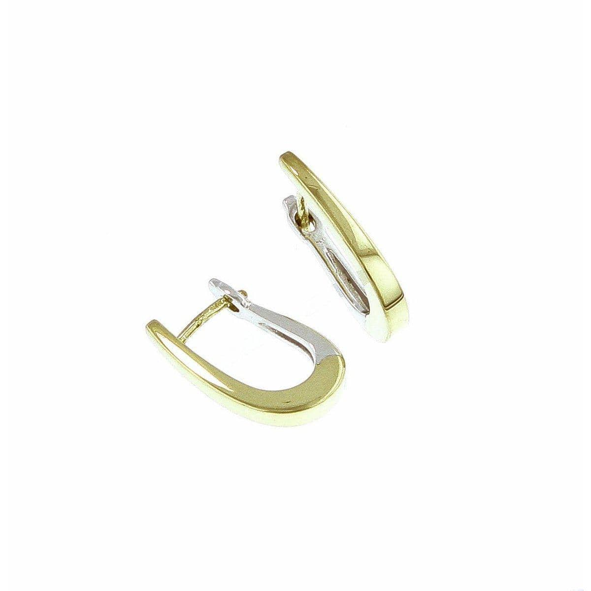 Yellow Gold Plated Sterling Silver Earrings - 06/07825-Y-Breuning-Renee Taylor Gallery