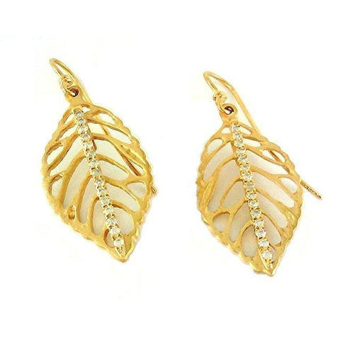Marika Diamond & 14k Gold Earrings - M2819-Marika-Renee Taylor Gallery