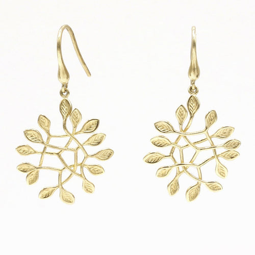 14k Yellow Gold Earrings - 902E+W-Y-Leon Israel Designs-Renee Taylor Gallery