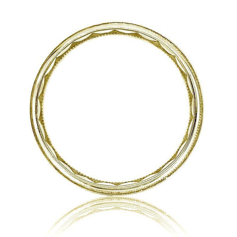 18k Yellow Gold Eternity Crescent Men's Band - 76-5Y-Tacori-Renee Taylor Gallery