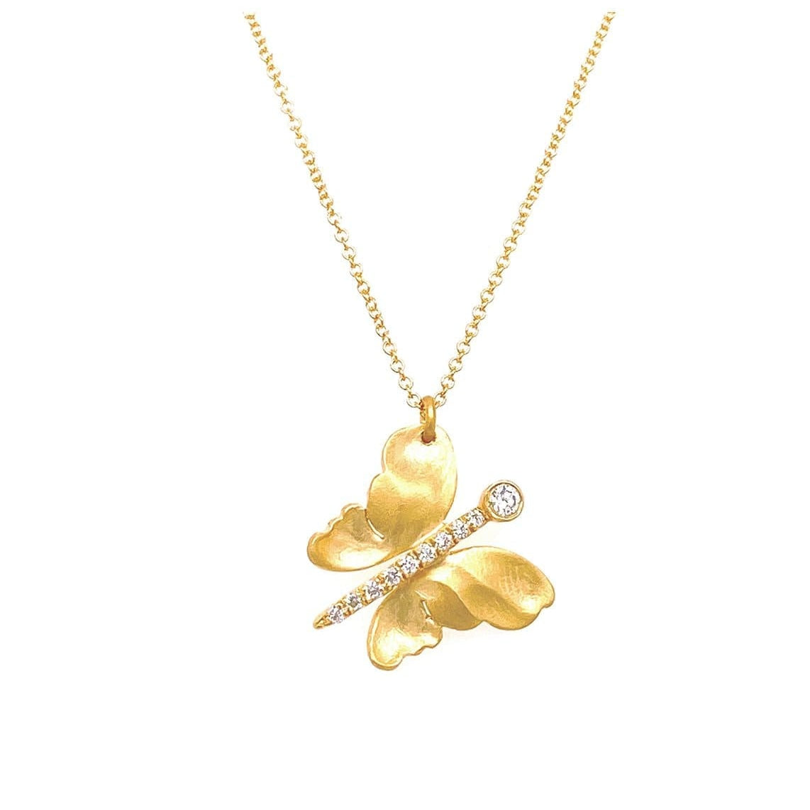 Marika Diamond & 14k Gold Necklace - M3927-Marika-Renee Taylor Gallery