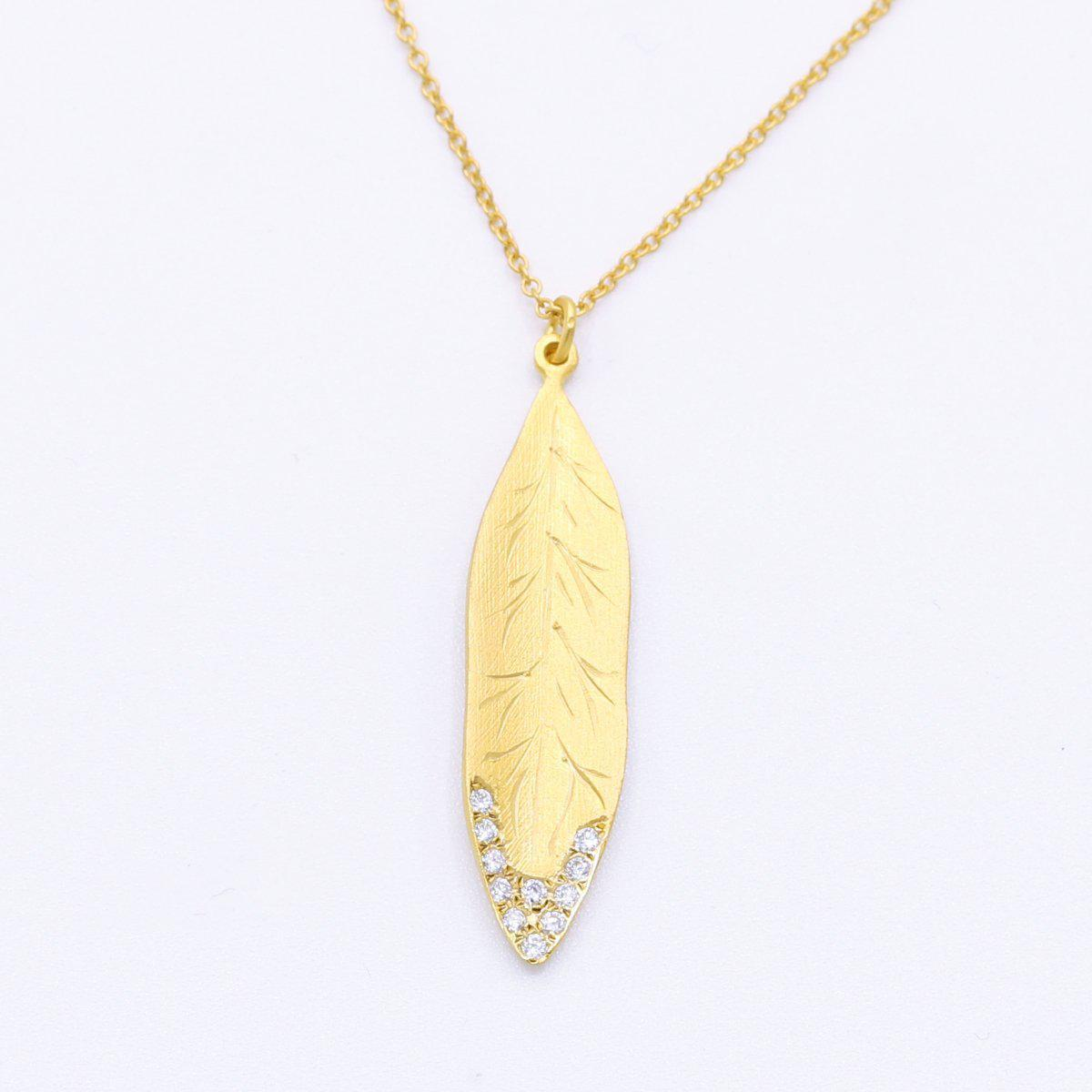 Marika Diamond & 14k Gold Necklace - M4885-Marika-Renee Taylor Gallery
