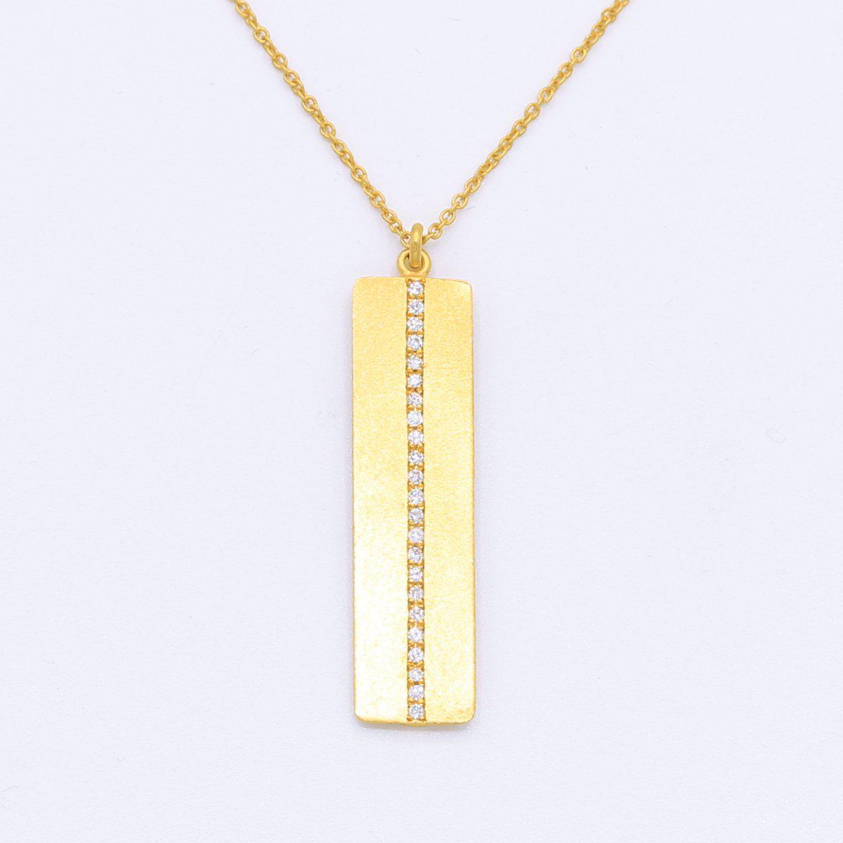Marika Diamond & 14k Gold Necklace - M5602-Marika-Renee Taylor Gallery