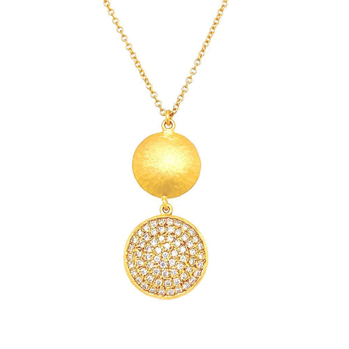 Marika Diamond & 14k Gold Necklace - MA5753-Marika-Renee Taylor Gallery