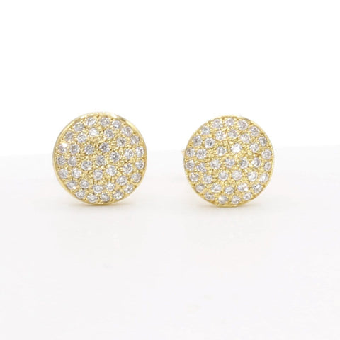 Marika Diamond & 14k Gold Earrings - M5795-Marika-Renee Taylor Gallery