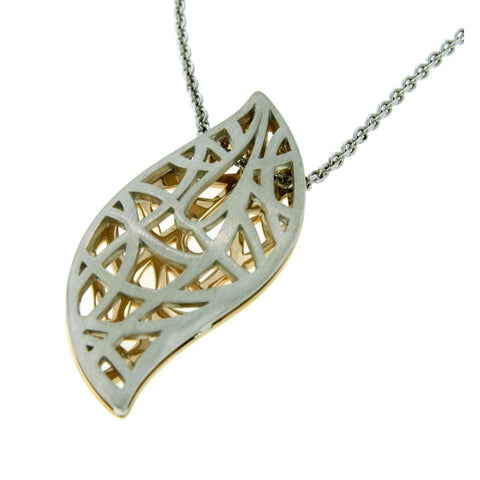 Rose Gold Plated Sterling Silver Pendant - 34/08340-RH/R-Breuning-Renee Taylor Gallery