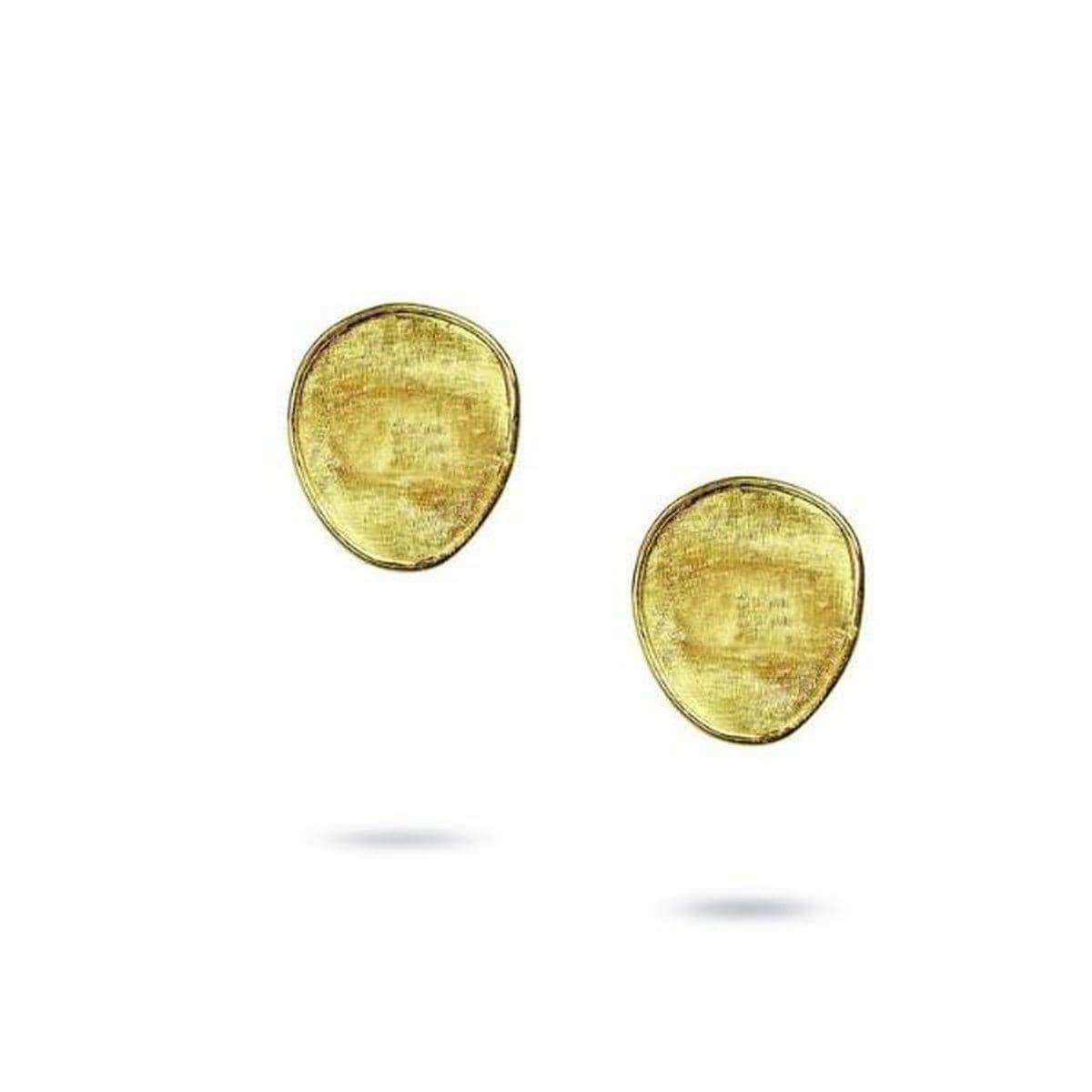 Lunaria 18K Yellow Gold Petite Stud Earrings - OB1341 Y-Marco Bicego-Renee Taylor Gallery