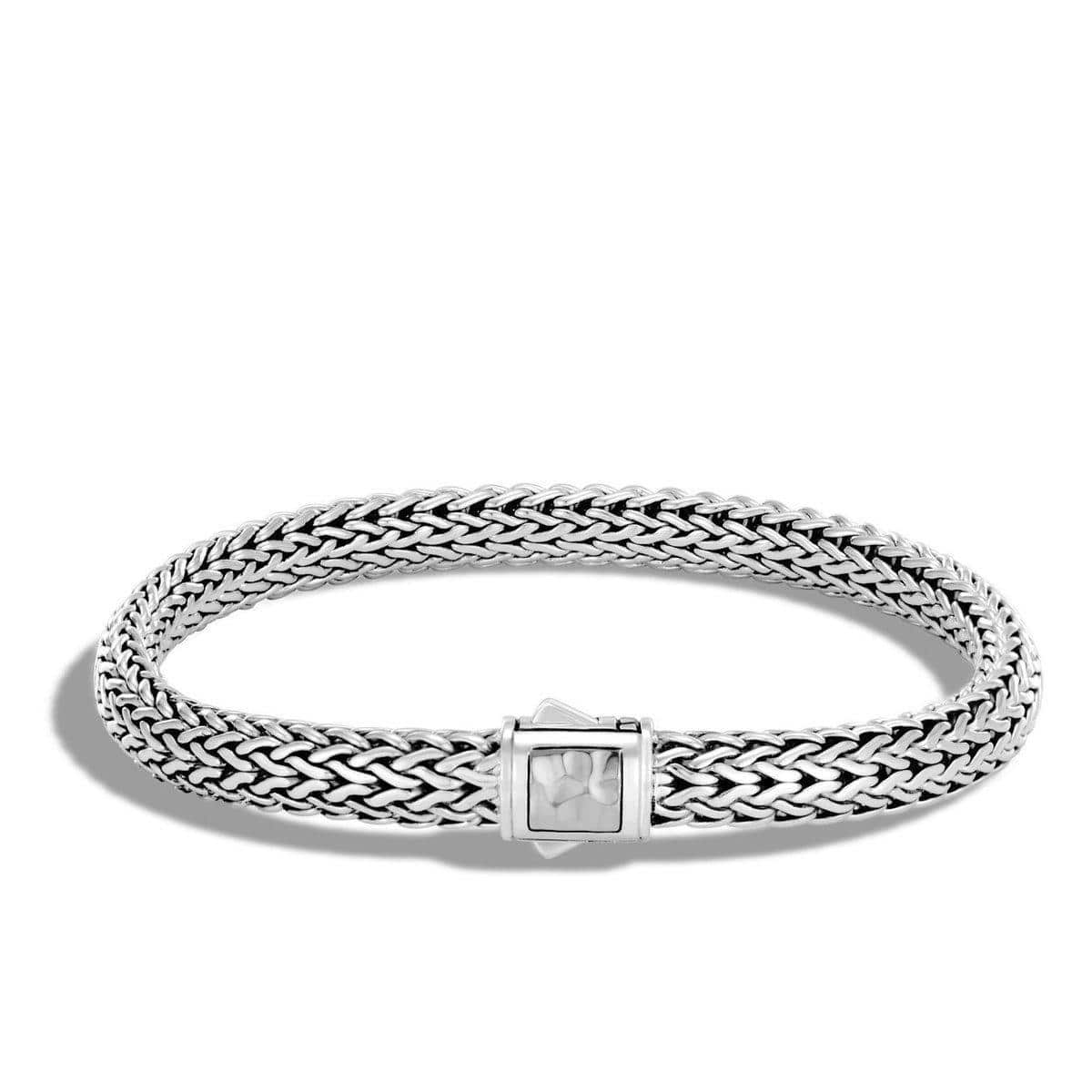 Classic Chain Hammered Bracelet - BB96185