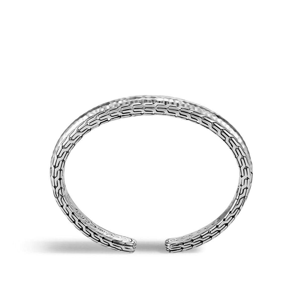 Classic Chain Hammered Cuff - CB95146-John Hardy-Renee Taylor Gallery