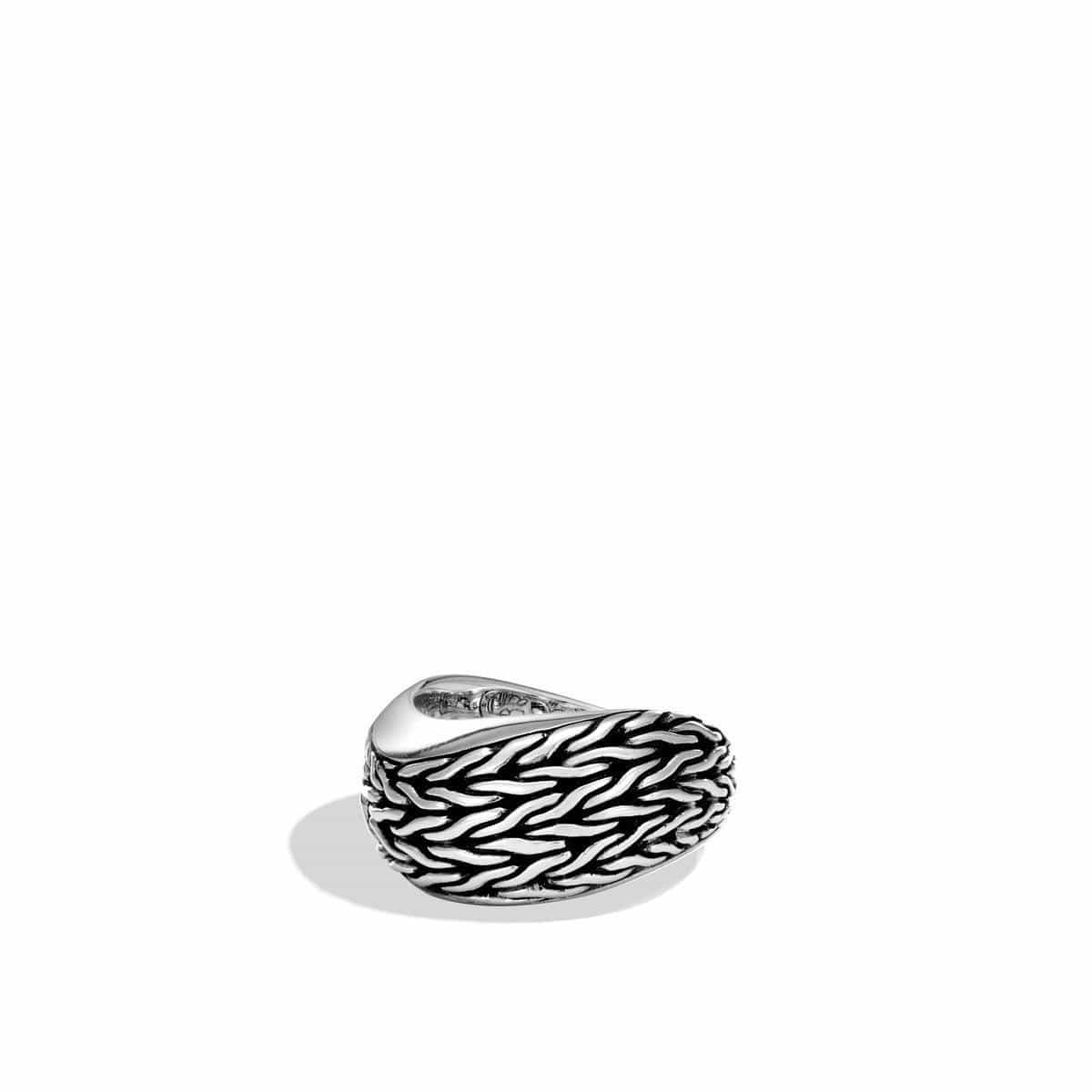 Classic Chain Wave Ring - RB90027-John Hardy-Renee Taylor Gallery