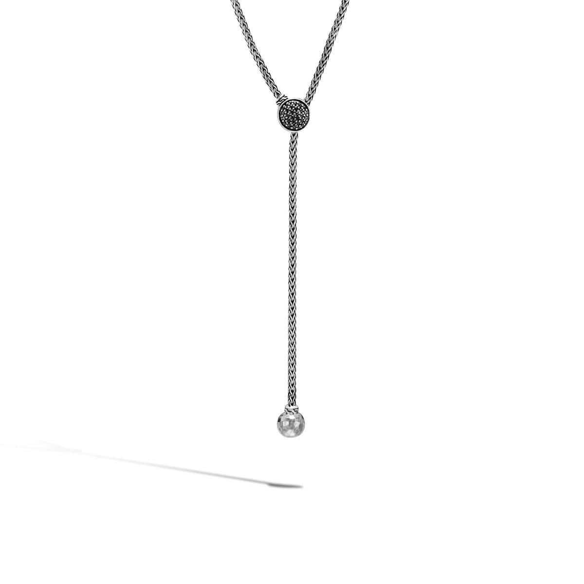 Classic Chain Drop Necklace - NBS9995834BLSBN-John Hardy-Renee Taylor Gallery