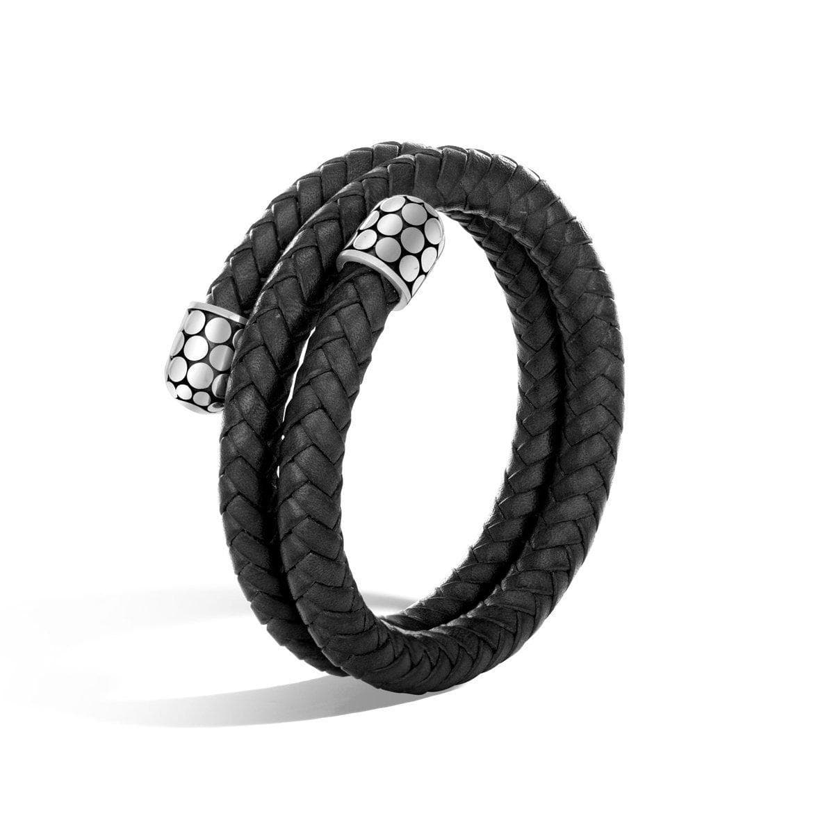 Dot Double Coil Bracelet - BB30024BL