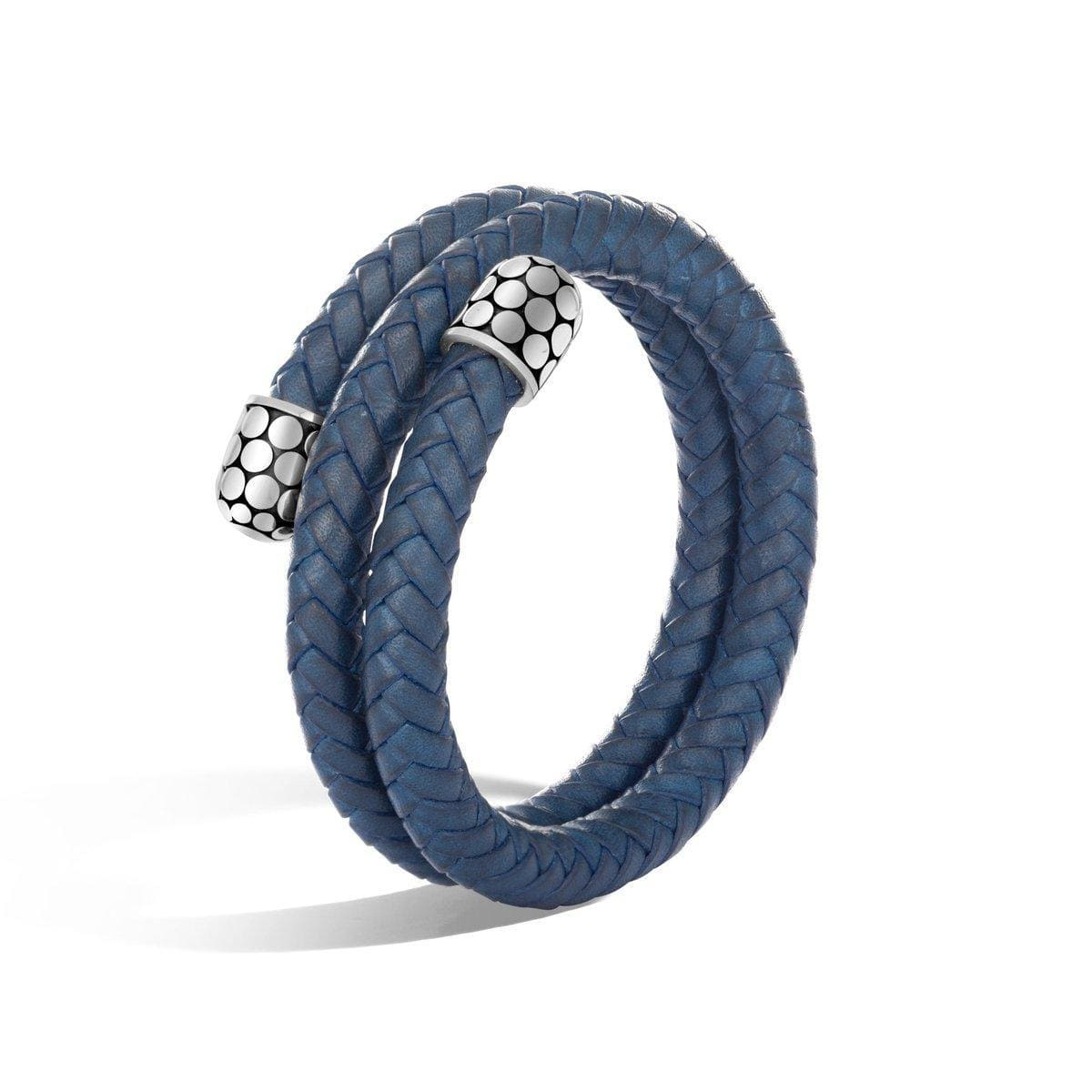 Dot Double Coil Bracelet - BB30024BU