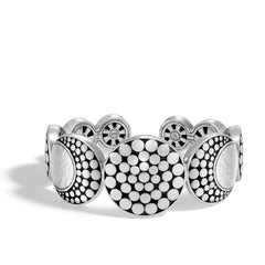 Dot Moon Phase Hammered Cuff - CB30004-John Hardy-Renee Taylor Gallery