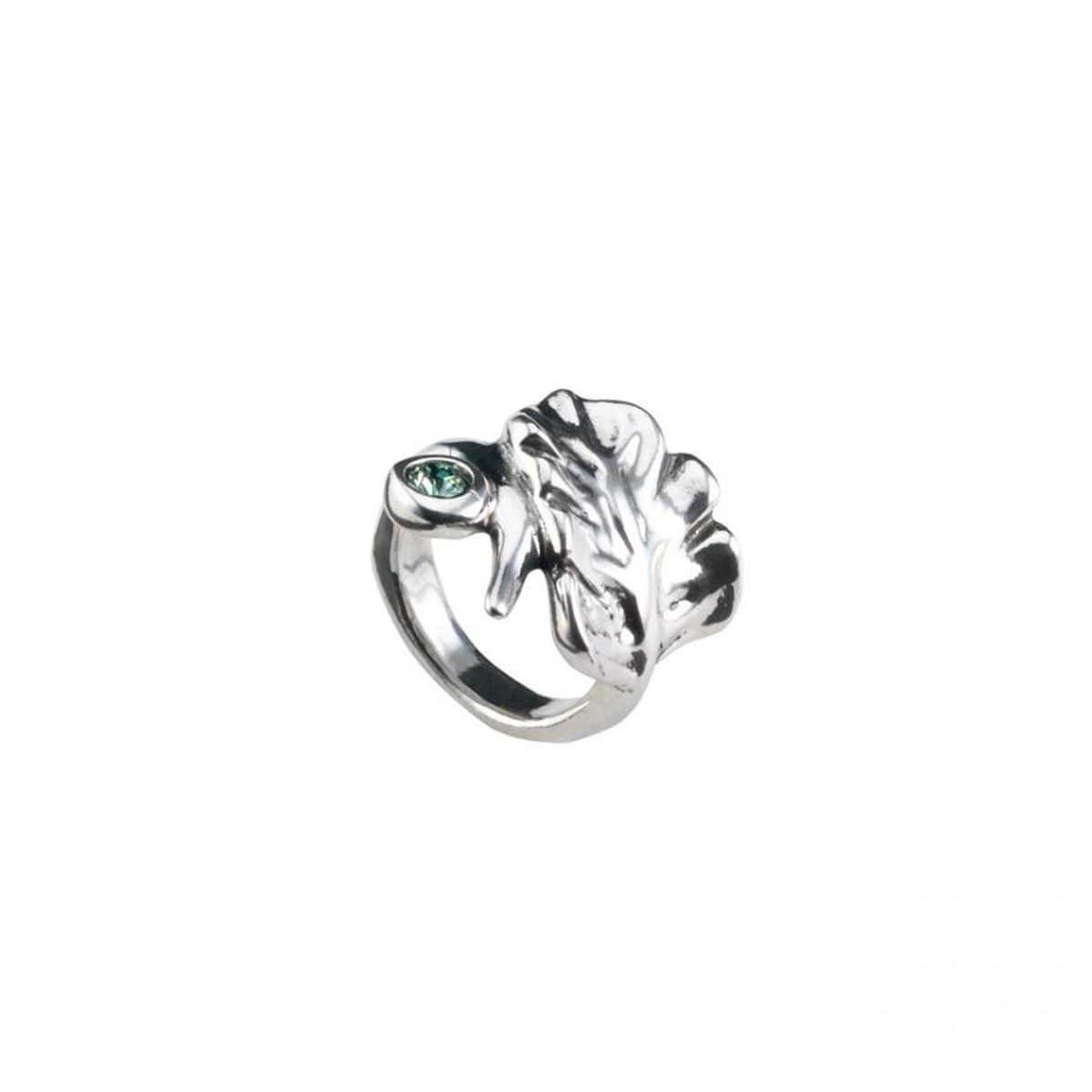 Leaves Ring - ANI0545VRDMTL-UNO de 50-Renee Taylor Gallery