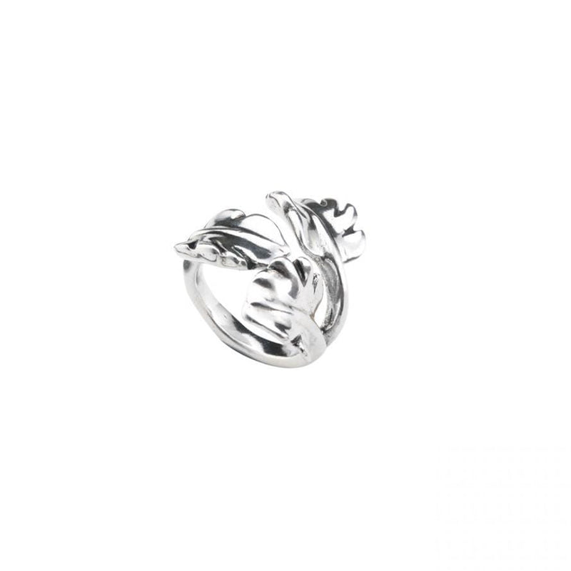 The Leaf Ring - ANI0546MTL000-UNO de 50-Renee Taylor Gallery