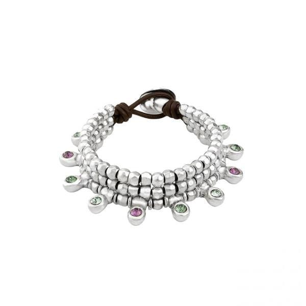 Crystal Jungle Bracelet - PUL1688MCLMTL0M-UNO de 50-Renee Taylor Gallery