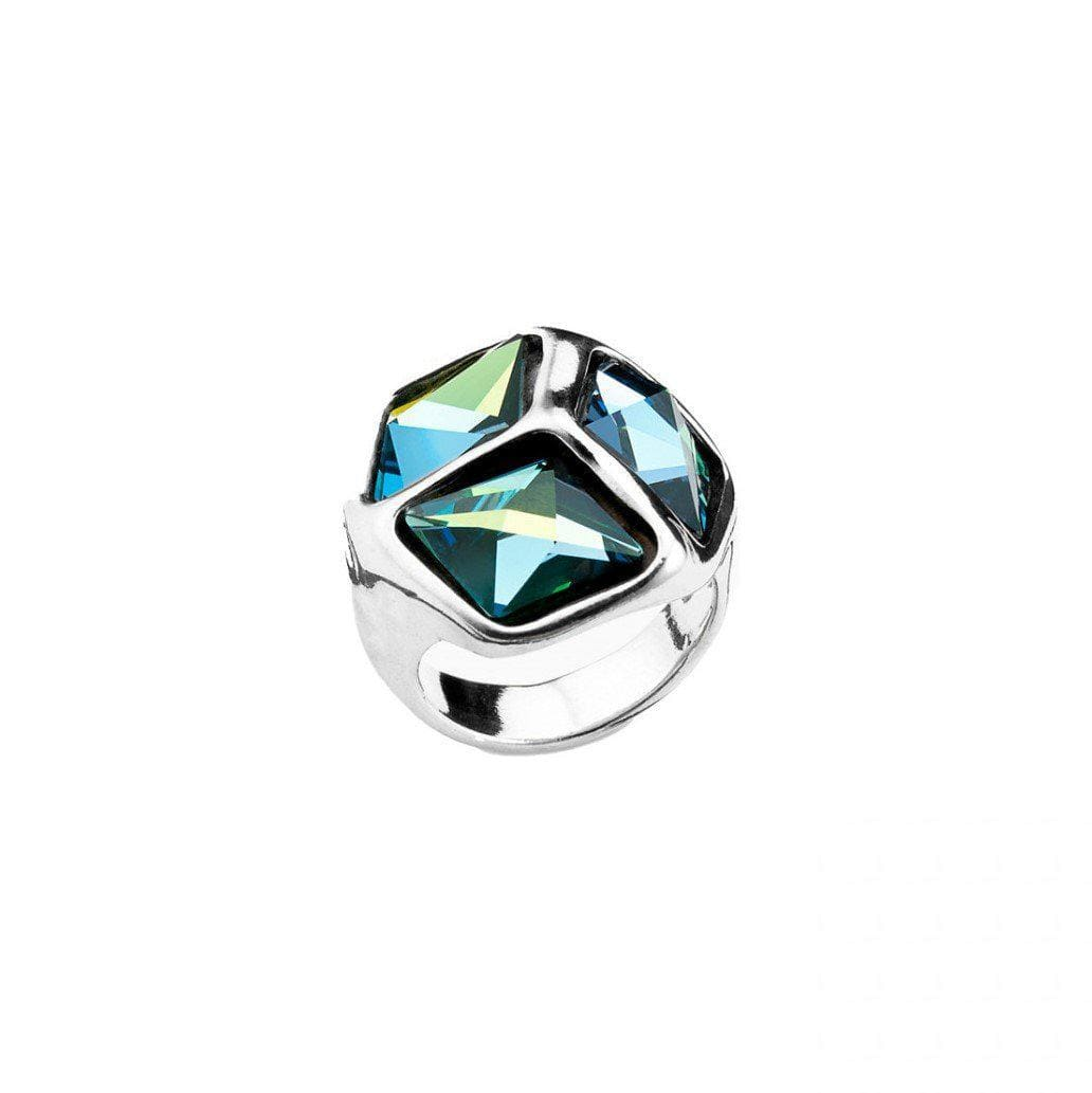 Cube Cubed Ring - ANI0541AZUMTL