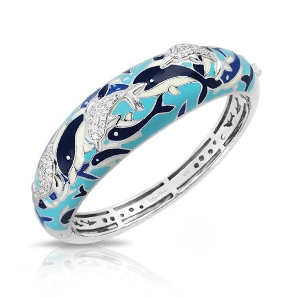 Delfino Blue Bangle-Belle Etoile-Renee Taylor Gallery