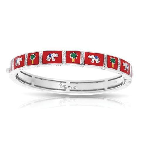 Elephant Red Bangle-Belle Etoile-Renee Taylor Gallery