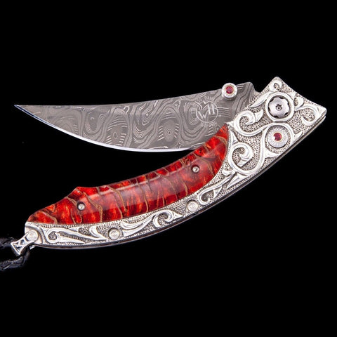 Persian Red Sea Limited Edition Knife - B11 RED SEA-William Henry-Renee Taylor Gallery