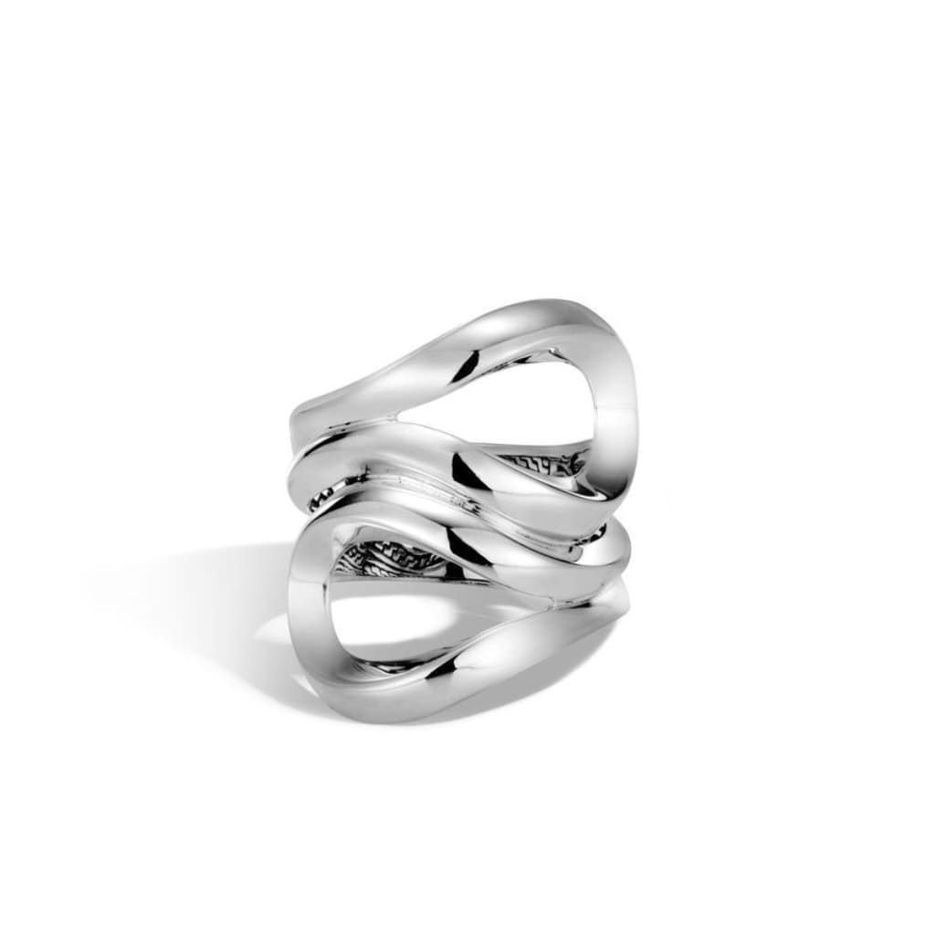 Classic Chain Asli Link Ring - RB90134-John Hardy-Renee Taylor Gallery