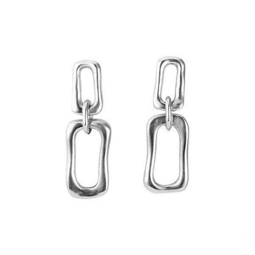 Date Earrings - PEN0595MTL0000U-UNO de 50-Renee Taylor Gallery
