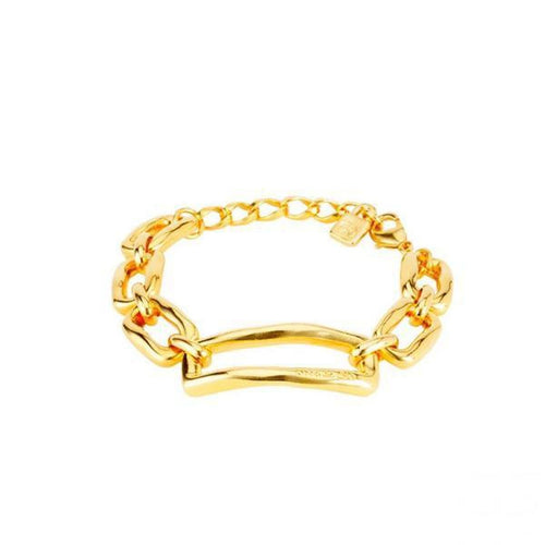 Gold Chain By Gold Chain Bracelet - PUL1768ORO0000M-UNO de 50-Renee Taylor Gallery