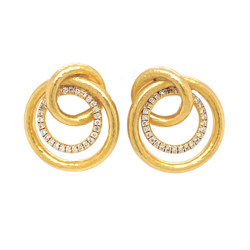 Marika Diamond & 14k Gold Earrings - MA6248-Marika-Renee Taylor Gallery