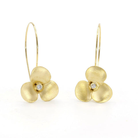 Marika Diamond & 14k Gold Earrings - M5416-Marika-Renee Taylor Gallery