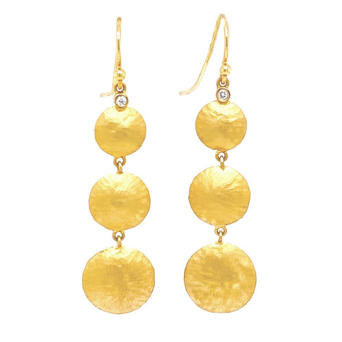 Marika Diamond & 14k Gold Earrings - MA6961-Marika-Renee Taylor Gallery