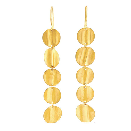 Marika 14k Gold Earrings - MA7002-Marika-Renee Taylor Gallery