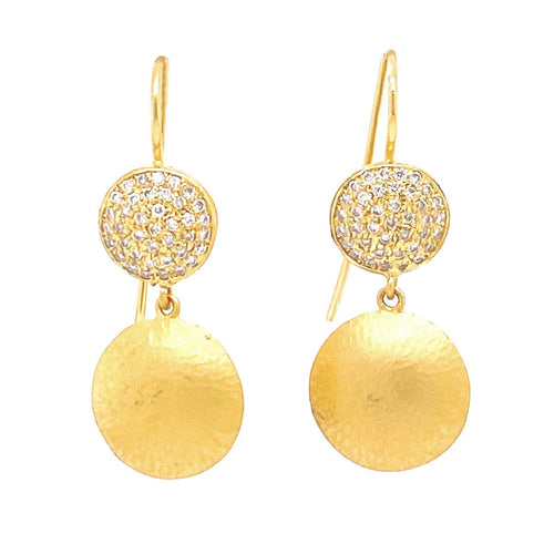 Marika Diamond & 14k Gold Earrings - MA5754-Marika-Renee Taylor Gallery