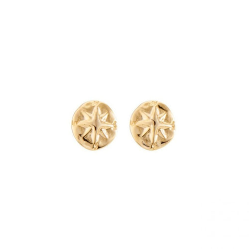 Compass Earrings - PEN0628ORO0000U-UNO de 50-Renee Taylor Gallery