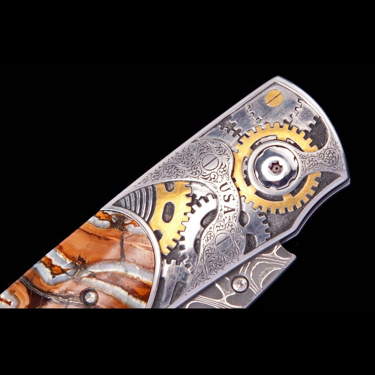 Spearpoint Watchworks Limited Edition Knife - B12 WATCHWORKS-William Henry-Renee Taylor Gallery