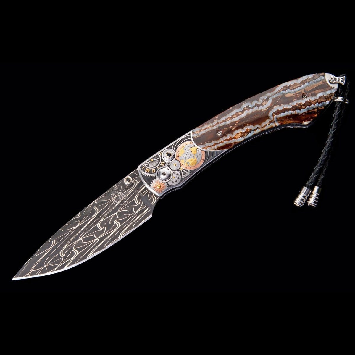 Spearpoint Face of Time Limited Edition Knife - B12 FACE OF TIME-William Henry-Renee Taylor Gallery