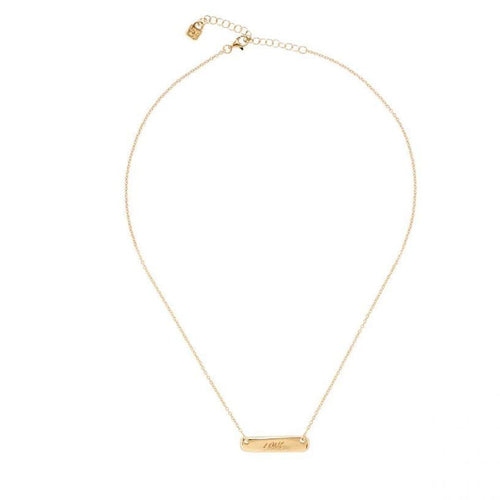 Gimme Love Necklace - COL1405ORO0000U-UNO de 50-Renee Taylor Gallery