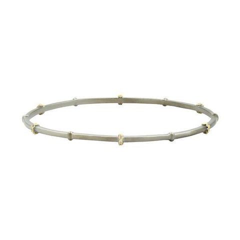Imperial Pavé Bangle - IMYKZB02-Freida Rothman-Renee Taylor Gallery