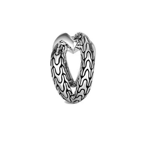 Classic Chain Knife Edge Ring - RB90498-John Hardy-Renee Taylor Gallery