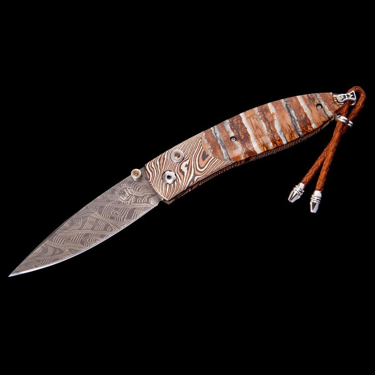Monarch Archetype II Limited Edition Knife - B05 ARCHETYPE II-William Henry-Renee Taylor Gallery