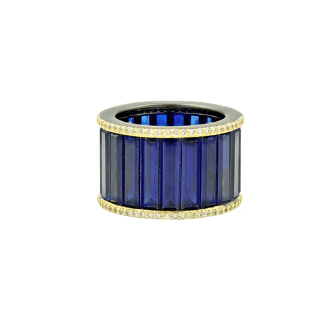 The Midnight Baguette Cigar Band - YRZR090206B-BL-Freida Rothman-Renee Taylor Gallery