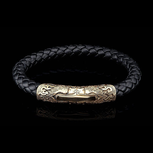 Men's Ramble On Bracelet - LC196 RRBZ BLK-William Henry-Renee Taylor Gallery