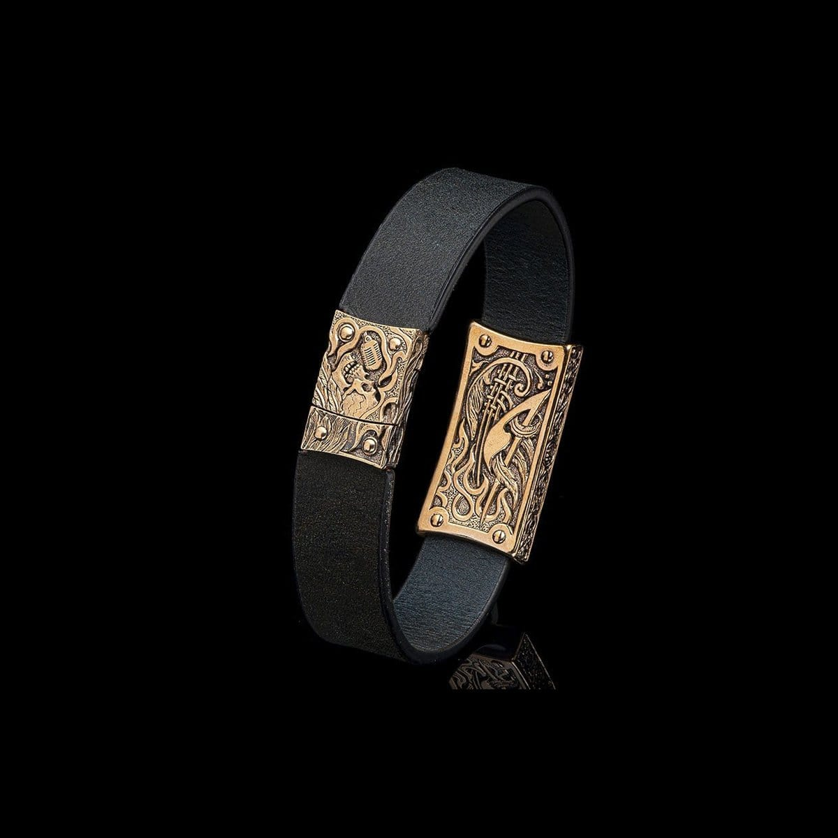 Men's La Grande Bracelet - LC192 RRBZ BLK-William Henry-Renee Taylor Gallery