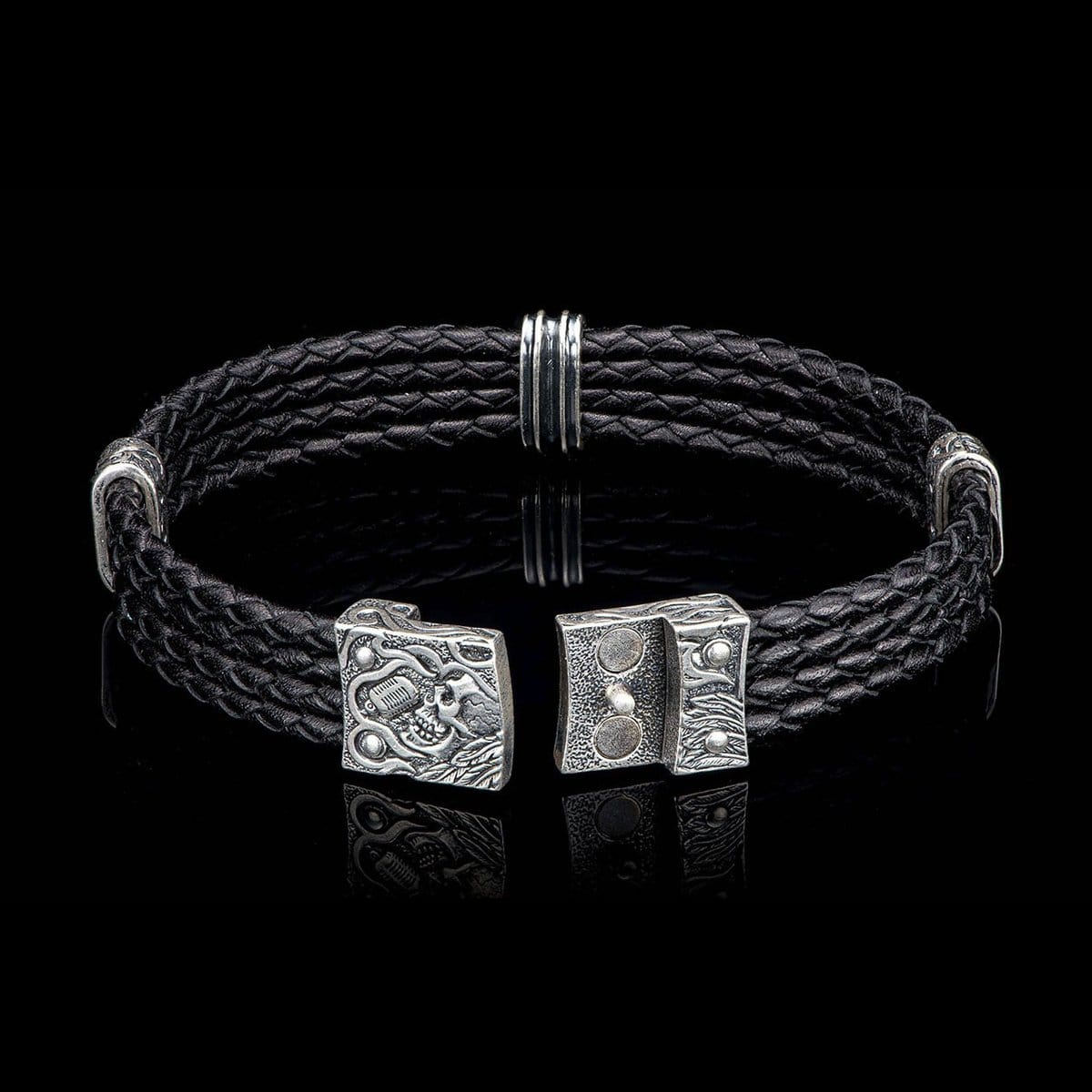 Men's Free Bird Bracelet - LC197 RRS BLK-William Henry-Renee Taylor Gallery