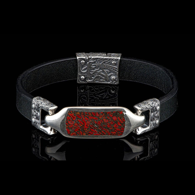 Men's Layla Dino Bracelet - LC193 RRDB BLK-William Henry-Renee Taylor Gallery